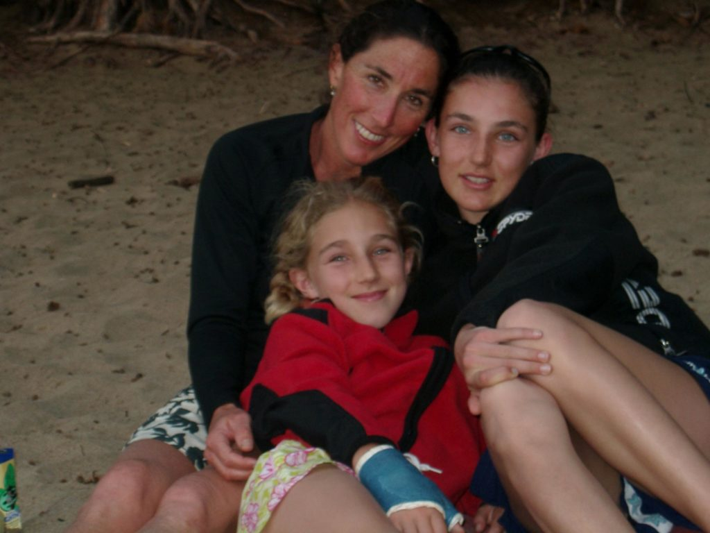 Barbara Edelston Peterson and daughters